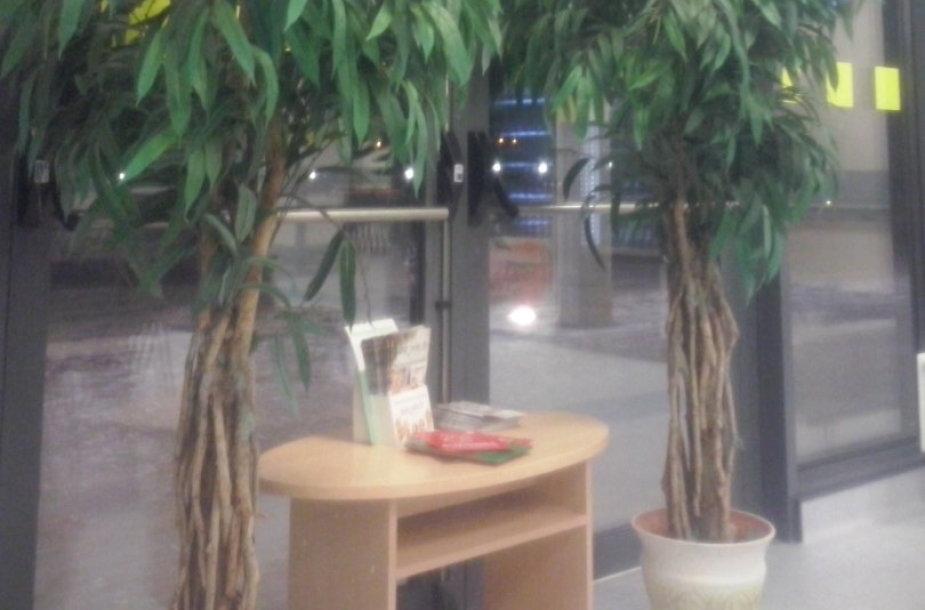 Kauno klinikose avariniai išėjimai apstatyti gėlėmis ir baldais