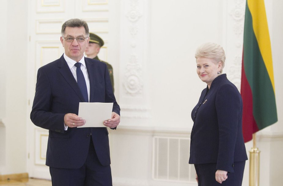 D.Grybauskaitė ir A.Butkevičius