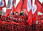 Šimtai rusų protestavo prieš Kurilų salų perdavimą Japonijai