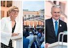Paskutiniai debatai: G.Nausėda žada būti žiniasklaidos laisvės garantu, I.Šimonytė ragina pasitikėti mokytoju