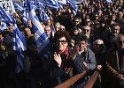 Graikijos salose tūkstančiai gyventojų protestuoja prieš migrantų stovyklas