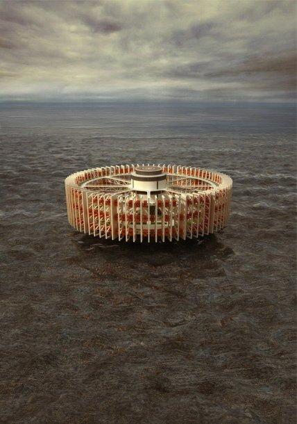 VGTU absolventes suprojektuotas kalėjimas jūroje.
