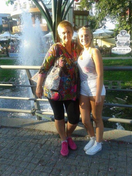Birutė su dukra Ausma