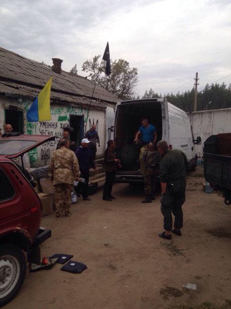 Humanitarinė parama pasiekė Kijevą