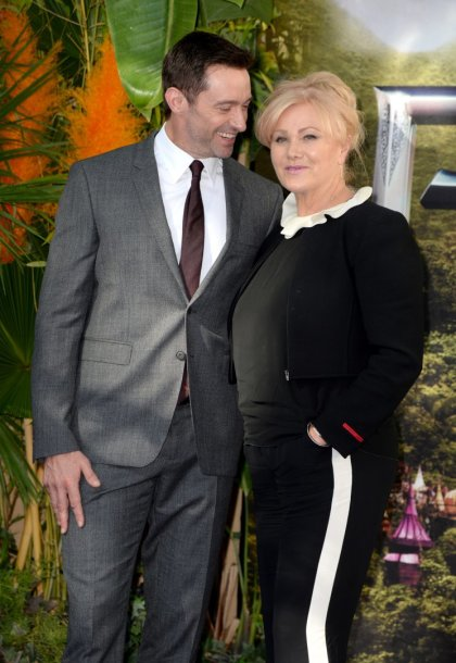 Hugh Jackmanas su žmona Deborra-Lee Furness