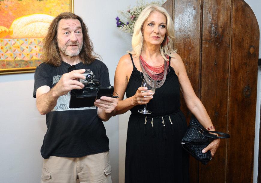 Algimantas MIkutėnas ir Gražina Baikštytė