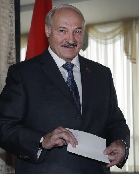 Baltarusijos prezidentas Aliaksandras Lukašenka