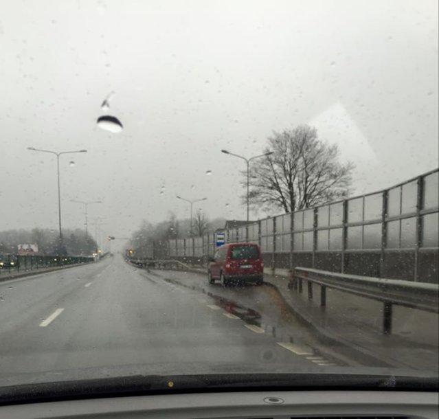 Maskuotas Šiaulių kelių policijos automobilis