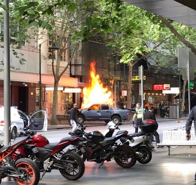 Išpuolis Melburne