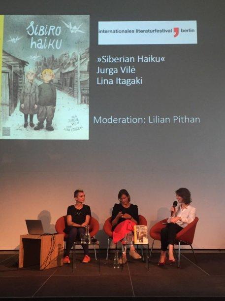 Akimirkos iš Berlyno literatūros festivalio