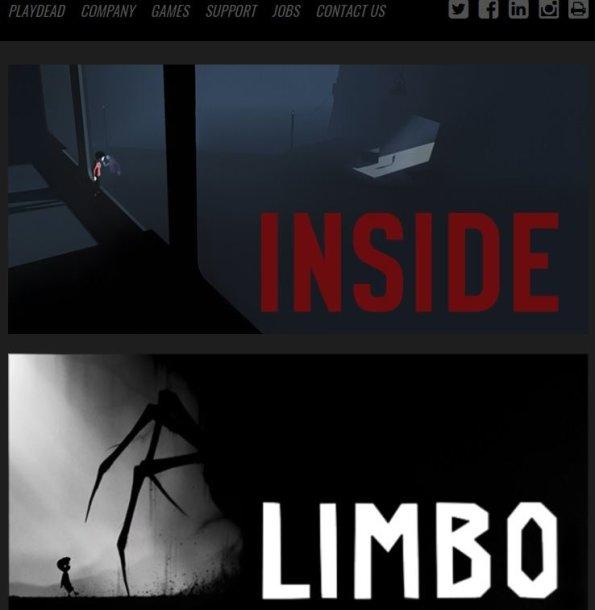 """Kompanija """"Playdead"""" yra sukūrusi žaidimus """"Inside"""" ir """"Limbo"""""""