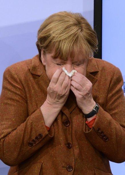 Akimirkos iš Angelos Merkel gyvenimo