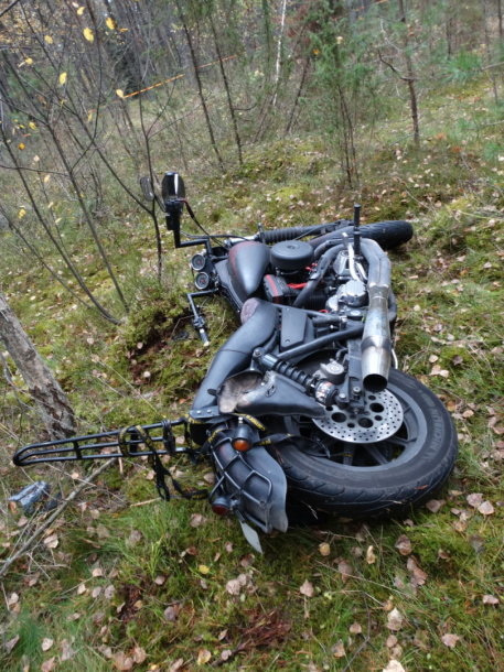 A.Kilkaus motociklas