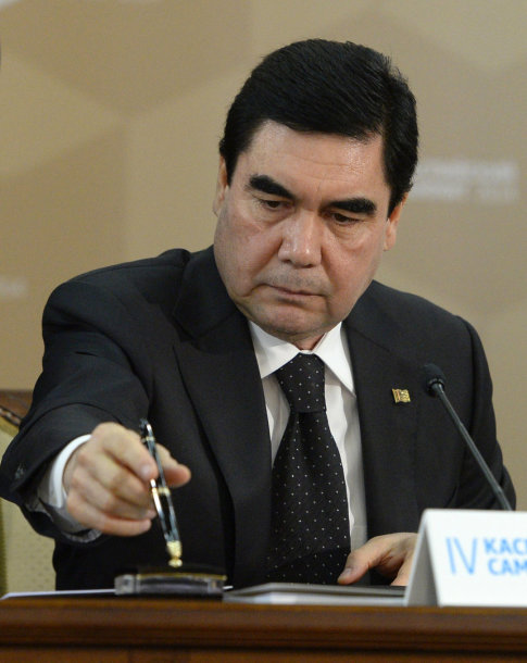 Turkmėnijos prezidentas Gurbanguly Berdymuchamedovas