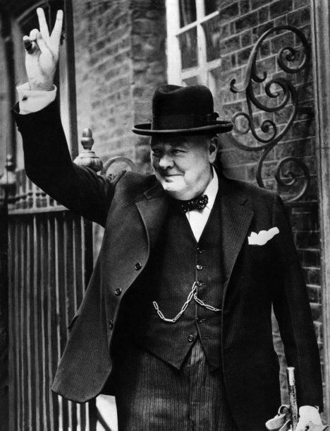 Prieš 139 metus gimė Winstonas Churchillis