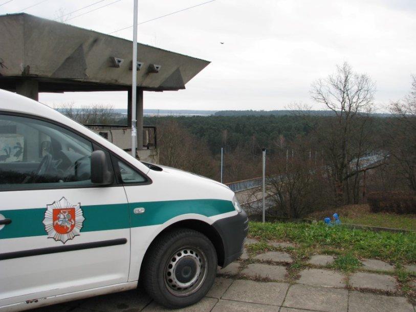 Kauno policijos automobilis