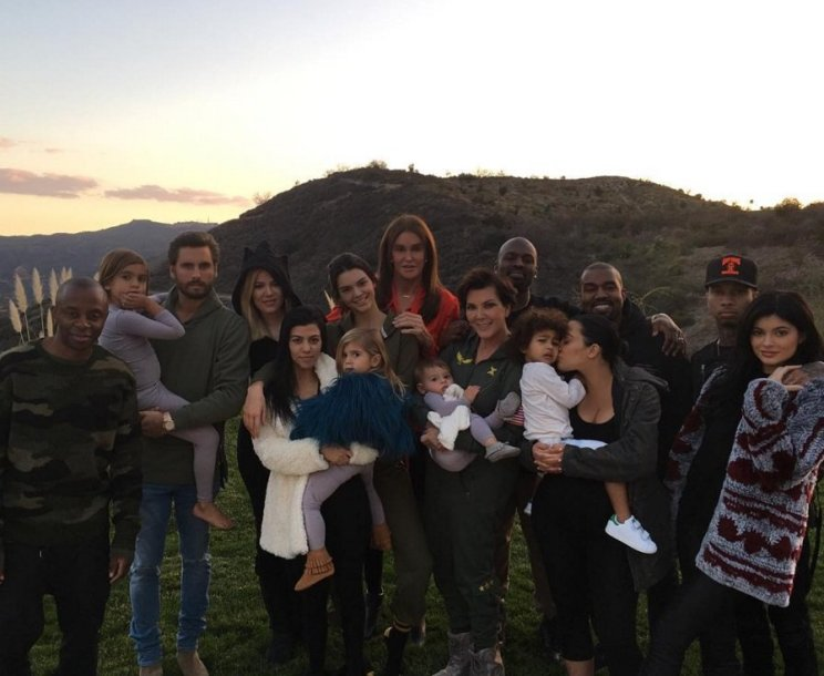 Kardashianų ir Jennerių šeima