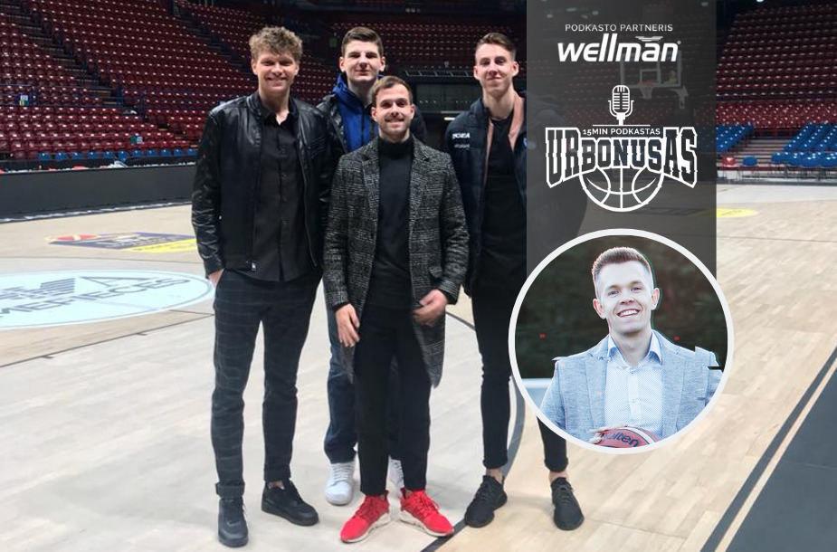 T.Bulotas atstovauja būriui Lietuvos krepšinio žvaigždžių