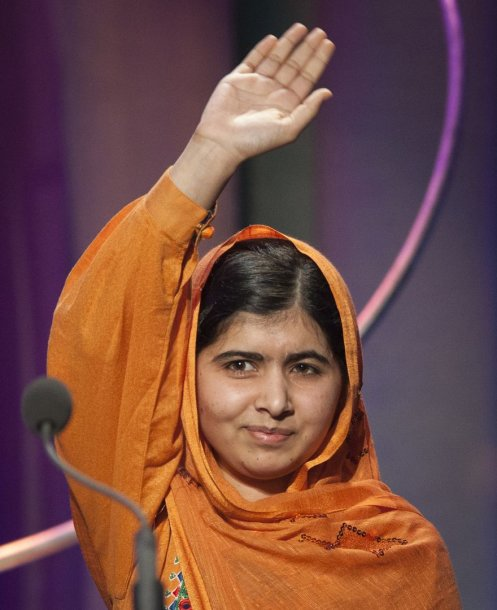 Tarp pagrindinių pretendentų į Nobelio taikos premijas – pašauta pakistaniečių paauglė Malala Yousafzai
