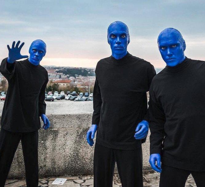 """Blue Man Group"""