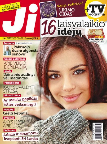 """Savaitinis žurnalas """"Ji"""" (6 nr. viršelis)"""