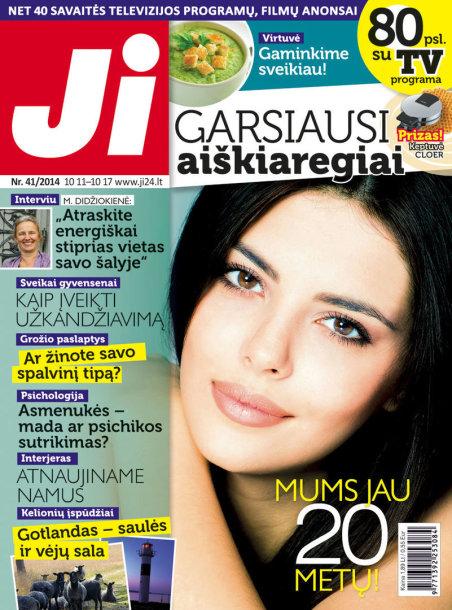 """2014 m. spalio mėnesio žurnalo """"Ji"""" Nr. 41"""