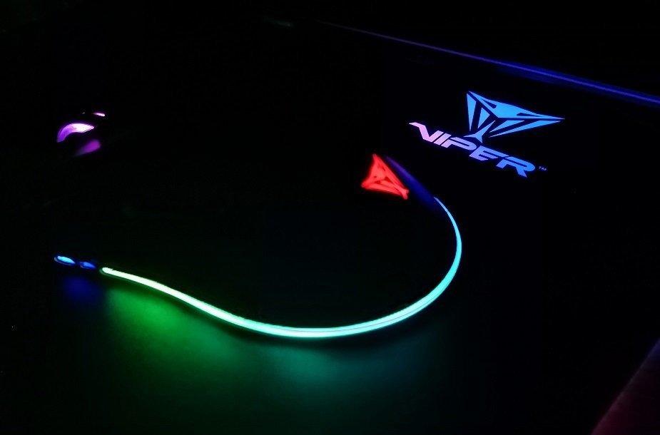 """""""Patriot Viper"""" produktuose daug dėmesio skiriama RGB apšvietimui"""