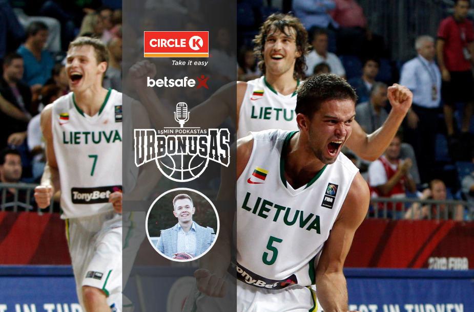 Mantas Kalnietis 2010-ųjų pasaulio čempionatą prisimena kaip ypatingą