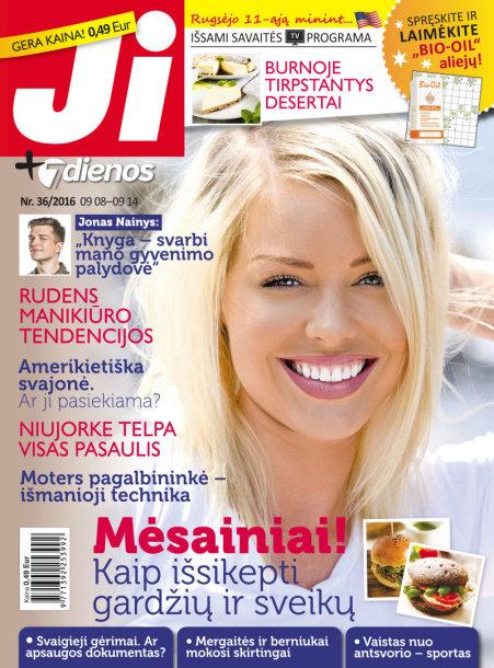 """Žurnalas """"Ji + 7 dienos"""" (36 nr.)"""