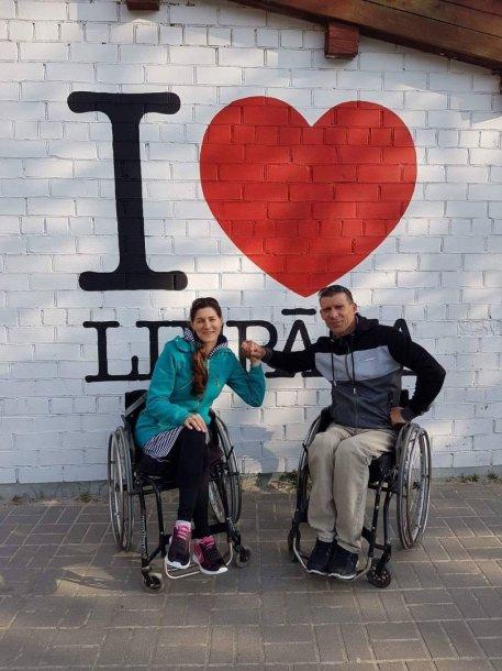 Andrejus Daškevičius su žmona keliauja ir lankosi įvairiuose renginiuose