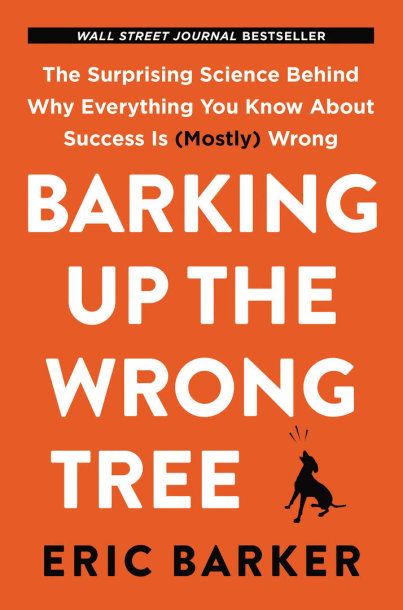 "Knyga ""Barking up the Wrong Tree"" (liet. atitikmuo – šuniui ant uodegos)"