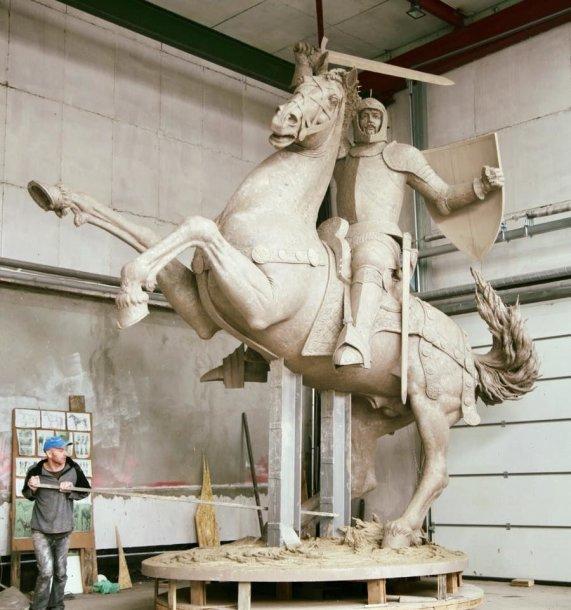 Vyčio skulptūra