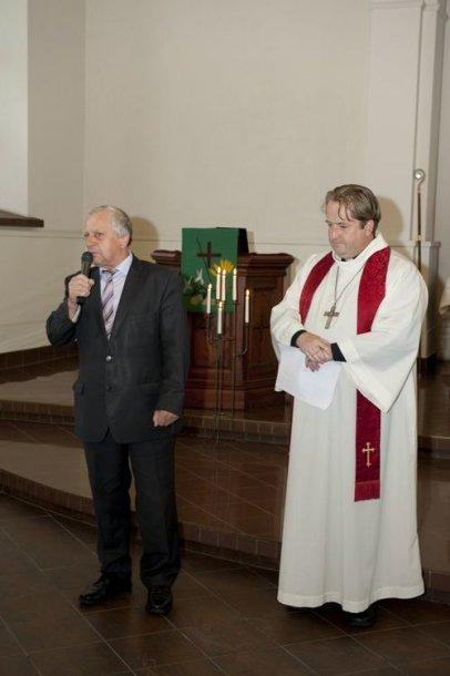 Sveikina meras Juozas Bertašius