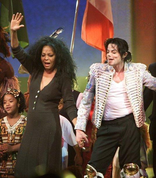 Michaelas Jacksonas ir Diana Ross