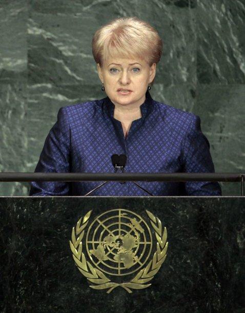 Dalia Grybauskaitė 64-ojoje JT asamblėjoje