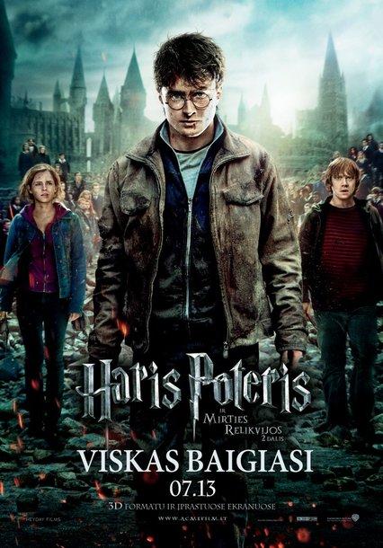 Dviems lietuviams – proga patekti į paskutinės Hario Poterio dalies iškilmingą premjerą Londone.