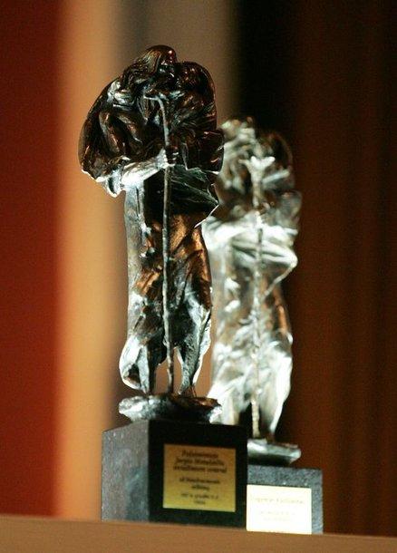 Šv.Kristoforo statulėlė