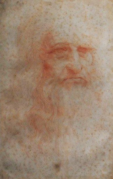 Leonardo da Vinci autoportretas