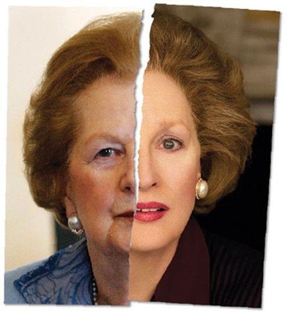 Margaret Thatcher ir Meryl Streep