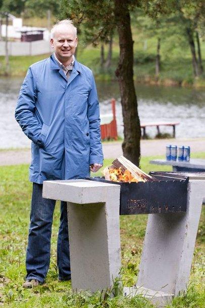 """UAB """"Švyturys-Utenos alus"""" generalinis direktorius Rolandas Viršilas"""