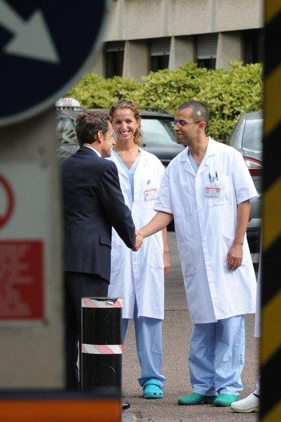 Nicolas Sarkozy paliko ligoninę