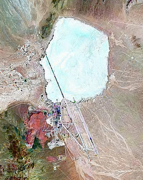 """""""Area 51"""" vaizdas iš kosmoso"""