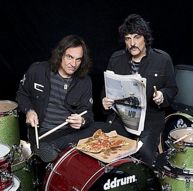 Būgnininkai Vinny ir Carmine Appice'ai