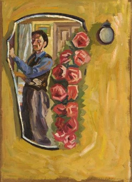 Algimantas Julijonas Stankevičius. Autoportretas. 1966, dr., al. 70,5x50,5 cm