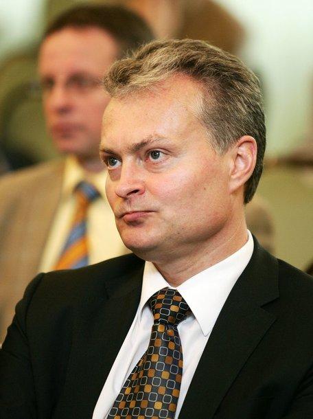 SEB banko prezidento patarėjas Gitanas Nausėda.