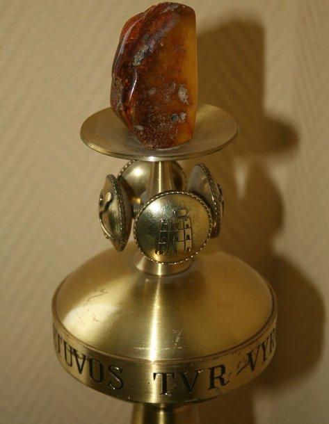 Ši taurė pagaminta 1966 metais.