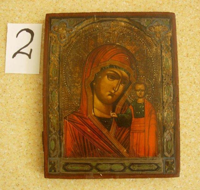 Iš viso slėptuvėse surastos 22, kaip įtariama, senovinės, didelę kultūrinę ir materialinę vertę turinčios ikonos.