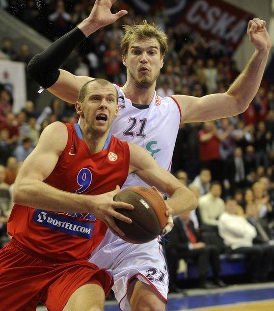 R.Šiškauskas buvo vienas CSKA pergalė kalvių