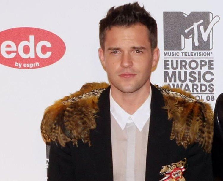 """Brandonas Flowersas iš grupės """"The Killers""""."""