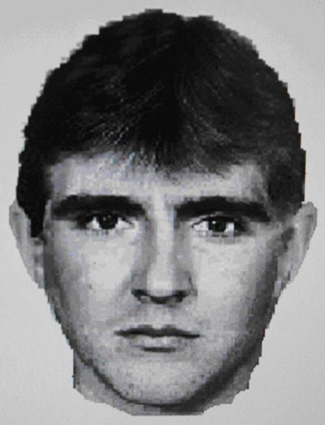Nužudymu įtariamo vyro fotorobotas.